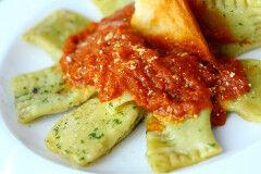 tagAlt.Agnolotti Stuffed with Mozzarella and Sun dried Tomatoes