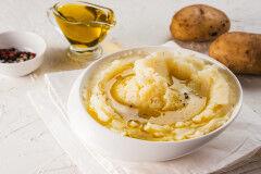 tagAlt.Mashed Potatoes Extra Virgin Olive Oil