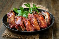 tagAlt.Pan fried Tuscan Pork Ribs with Rosemary