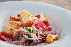 tagAlt.Panzanella Rustic Tuscan Bread Salad