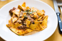 tagAlt.Pappardelle with Boar Ragu