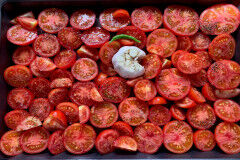 tagAlt.Pomodori al Forno Oven roasted Tomatoes with Fresh Herbs
