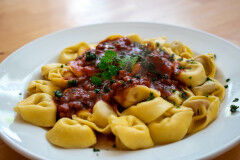 tagAlt.Potato filled Tortelli with Beef Ragout