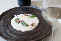 tagAlt.Risotto with Burrata and Anchovies