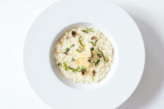tagAlt.Risotto with Smoked Scamorza Lemon and Fresh Basil