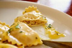 tagAlt.Sea Bream Filled Ravioli with Melted Butter Dressing