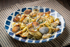 tagAlt.Spaghetti with Clam Sauce Alle Vongole