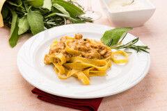 tagAlt.Tagliatelle with Pheasant Sauce