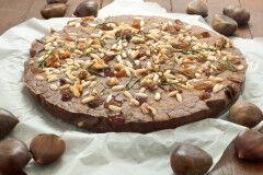 tagAlt.Traditional Tuscan Chestnut Flour Cake
