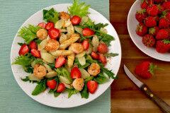 tagAlt.insalata gamberetti rucola fragole