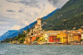 tagAlt.Malcesince Lake Garda landscape Cover