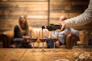 tagAlt.Wine pouring different glasses Filippo Tasting Cover