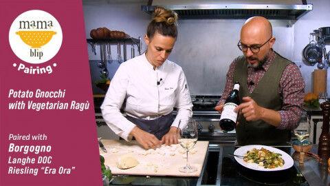 tagAlt.dinner in 15 gnocchi borgogno