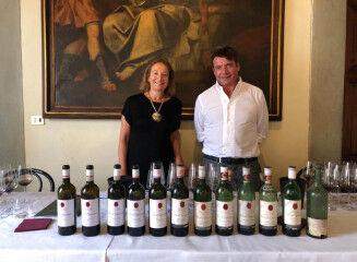 tagAlt.Capezzana wine tasting Beatrice e Filippo 6
