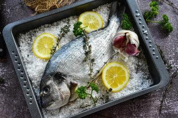 tagAlt.Cooked fish al sale Italian cooking 7