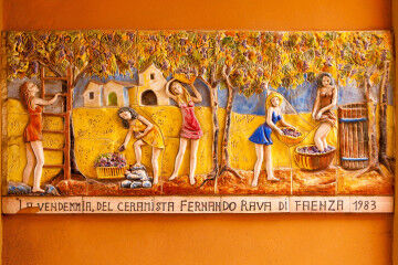 tagAlt.Faenza vendemmia ceramic harvest 1