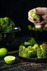 tagAlt.Green broccoli with lime 2