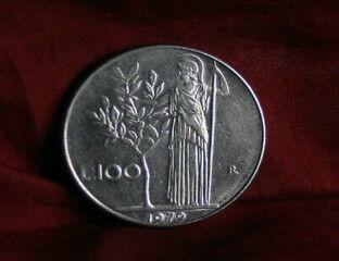 tagAlt.Italian coin Athena olive tree 8
