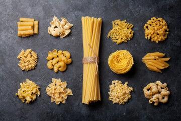 tagAlt.Mixed Dried pasta shapes 3