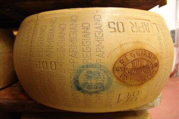 tagAlt.Parmigiano Reggiano cheese form 6