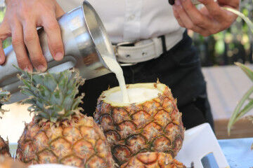 tagAlt.Pina Colada Pineapple drink 5