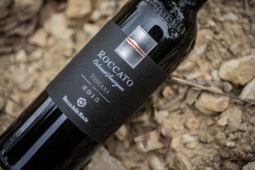 tagAlt.Rocca delle Macìe Roccato bottle vineyard 3