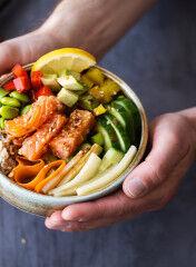 tagAlt.Salmon Poke bowl Fresh food 5