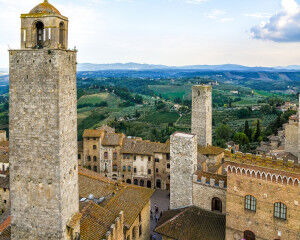 tagAlt.San Gimignano City View from Tower 1