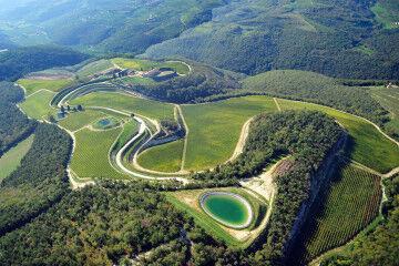 tagAlt.Tedeschi aerial view Maternigo vineyards 12