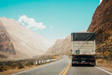 tagAlt.Truck food transportation in mountains 5
