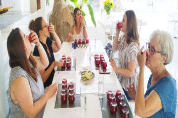tagAlt.Women EVOO tasting 4